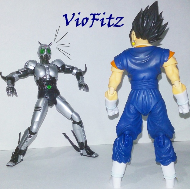 "- Vegetto looks at ShadowMoon - ShadowMoon: ""?!"" (I'm going to lose...?)"