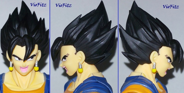 Alternate black haired faceplate on front & 2 sides. Yosh/Alright!!