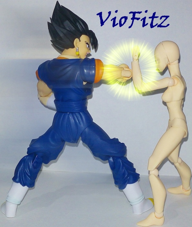 "Vegetto: ""You're gonna regret this!!"""