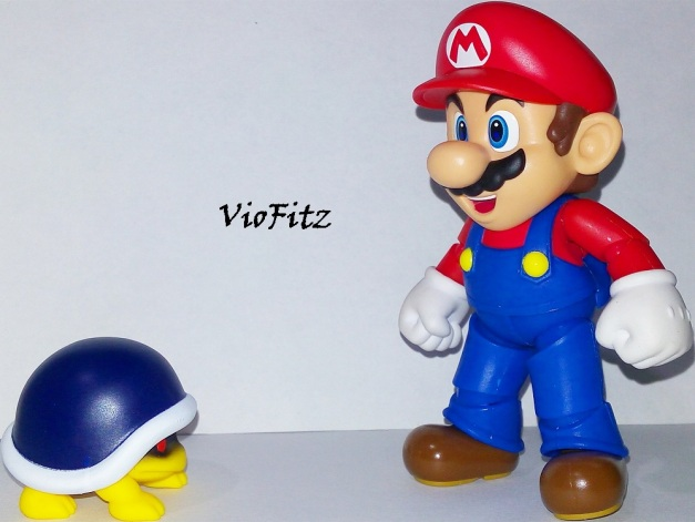 "Mario: ""Why don't you just hide & let me throw your shell?"""