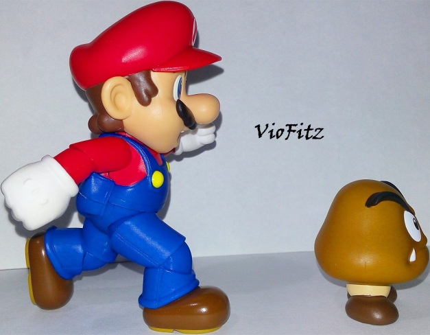 "Mario: ""Hey! Comeback here, you big moldy!"""