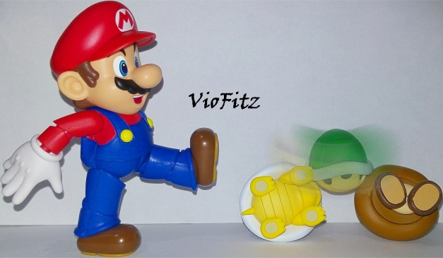 "Mario: ""How about I kick your shell, huh?!"""