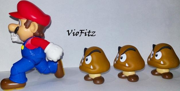 """Goombas: """"You rang?!"""" Mario: """"Oh, Nooo..."""""""