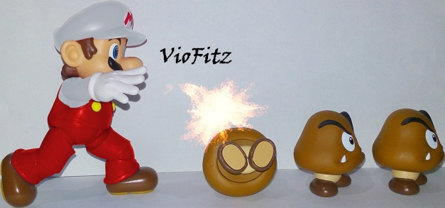 "Mario: ""Fire Flower!!"""
