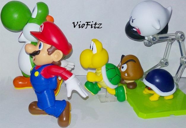 """Boo: """"Don't forget me, heeheeeheee!!"""" Mario & Yoshi: """"GYAAAAAAAA... A GHOST!!"""""""