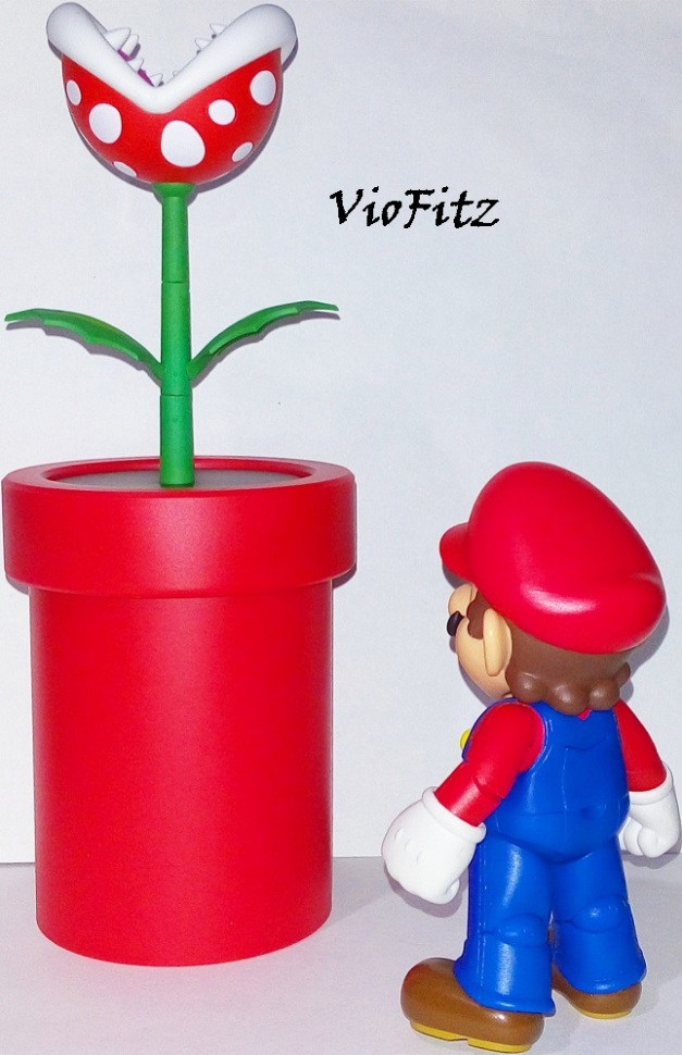 "Mario: ""Mammamia, another Chow Plant!"""