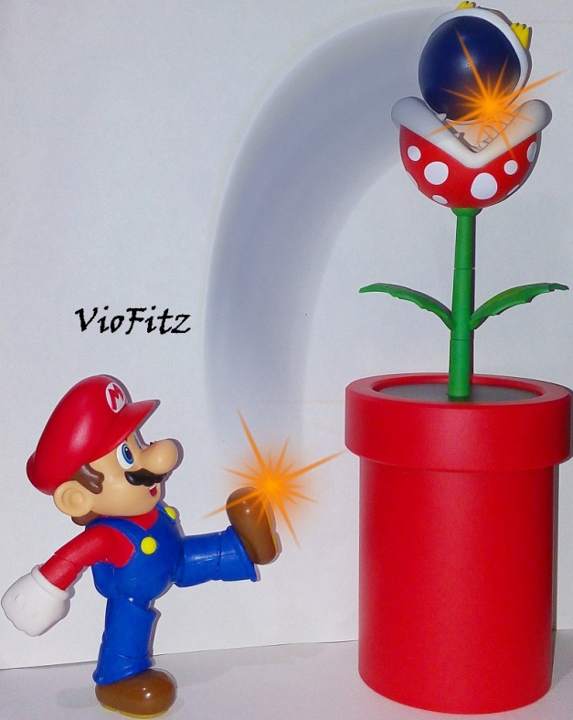 "Mario: ""Here's a little present from me!"""