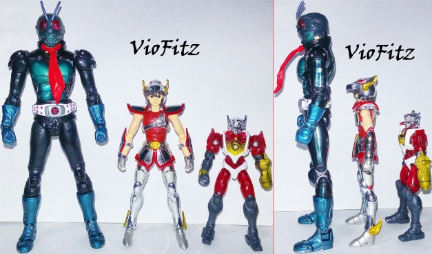 Comparison with SHF & Microman