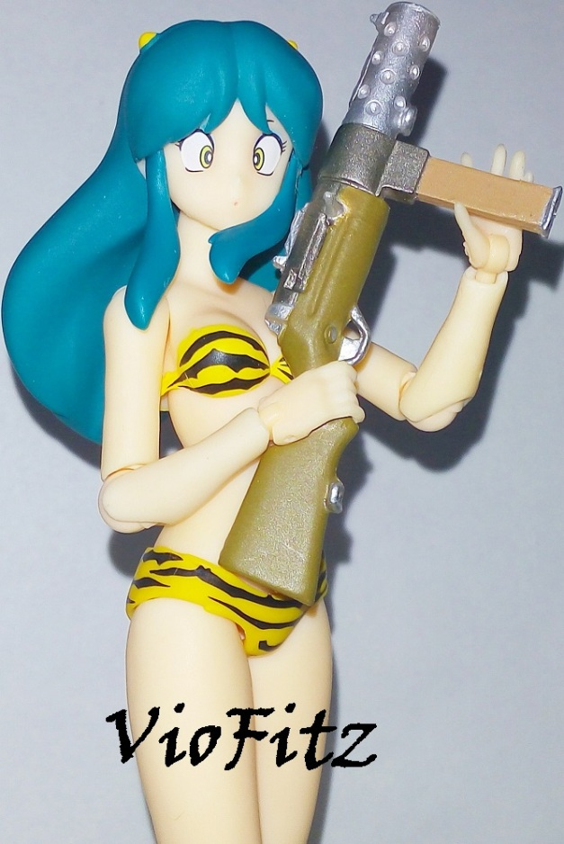 Lum with Machine Gun!!