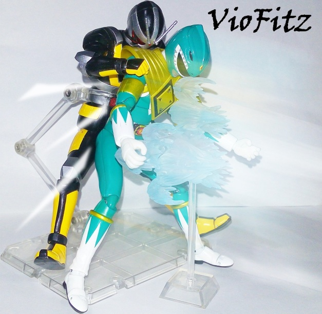 "Robo Rider: ""GUHAAAAKKHHH....."" Dragon Ranger: ""......."""