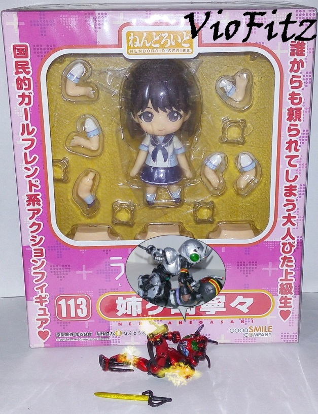 She's Kotaro's sister, dumbnuts!! No, she's Nobuhiko's!!