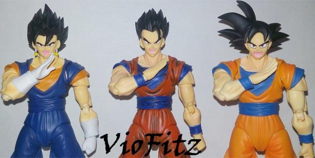 """Vegetto: """"FAAAAAIIINARUUUUU...."""" Gohan: """"KAAAAAAA....."""" Goku: """"MEEEEEEEE....."""""""
