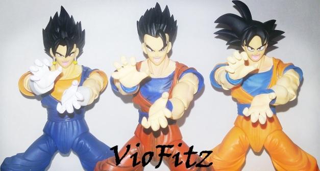 """Vegetto, Gohan & Goku: """"HAAAAAAHHHHHH!!!!!!!"""""""